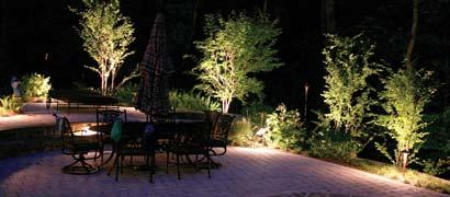 bodemverlichting in de tuin