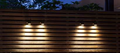 bovenverlichting tuin