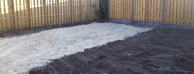 tuin aanleggen werkwijze